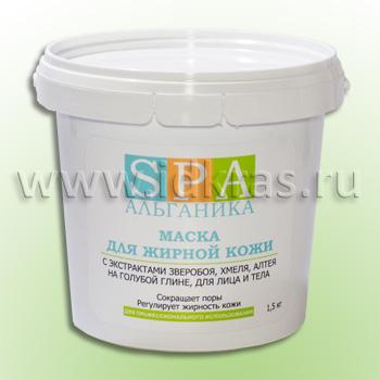 Маска-паста для жирной кожи (с экстрактами зверобоя, хмеля, алтея, лицо/тело)