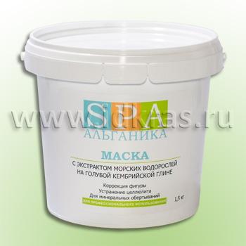 Маска-паста с экстрактом водорослей и голубой глиной антицеллюлитная