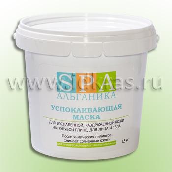 Маска-паста успокаивающая для воспаленной кожи (с экстрактами валерианы, хвоща ромашки, лицо/тело)