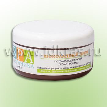 Шоколадный крем с охлаждающей мятой (с эфирным маслом мяты, экстрактом водорослей)