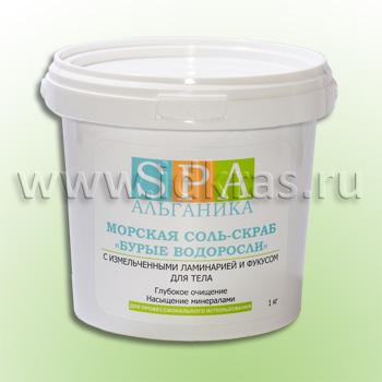 Соль-скраб морская «Бурые водоросли»