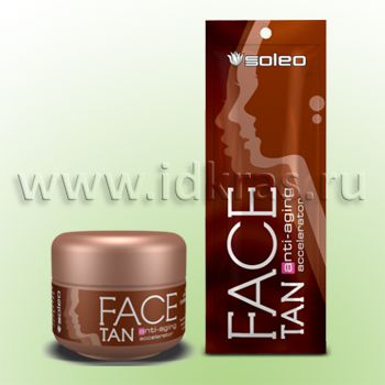 Средство для загара Face tan