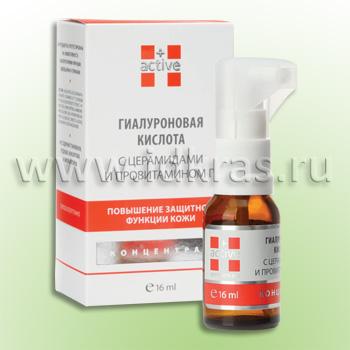 Концентрат Гиалуроновая кислота с церамидами и провитамином D