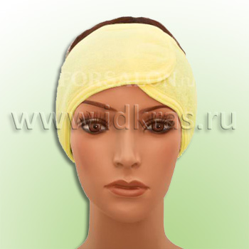 Повязка для волос махровая