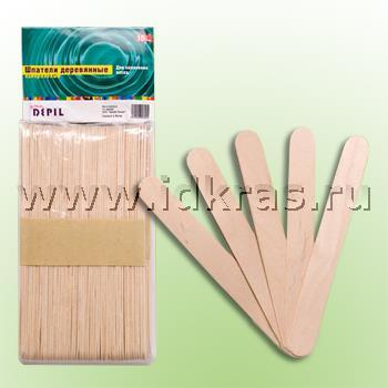 Шпатели деревянные L