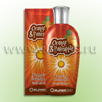 Средство для загара ORANGE & PINEAPPLE