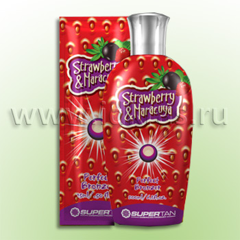 Средство для загара STRAWBERRY & MARACUJA